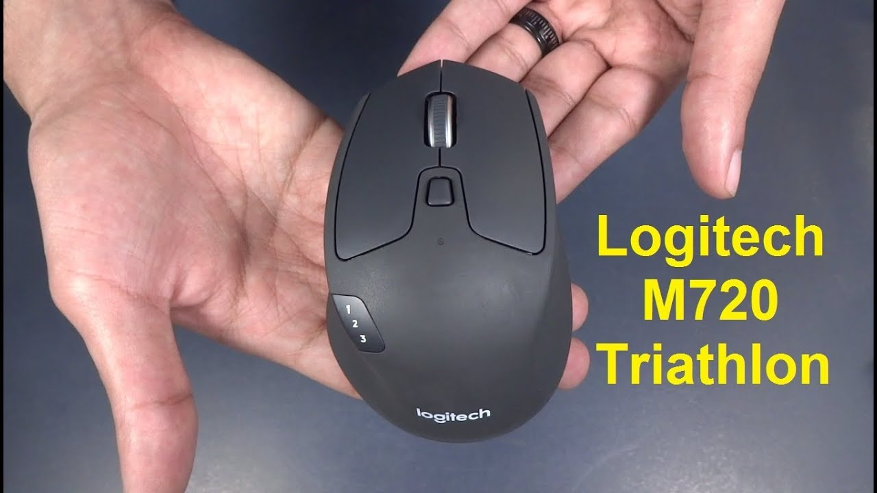 Logitech M720 Triathlon Review