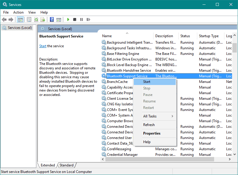 Microsoft Bluetooth Mouse Not Working