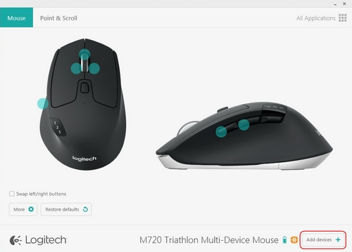 How to Connect Logitech M720 Triathlon With Unifying Receiver