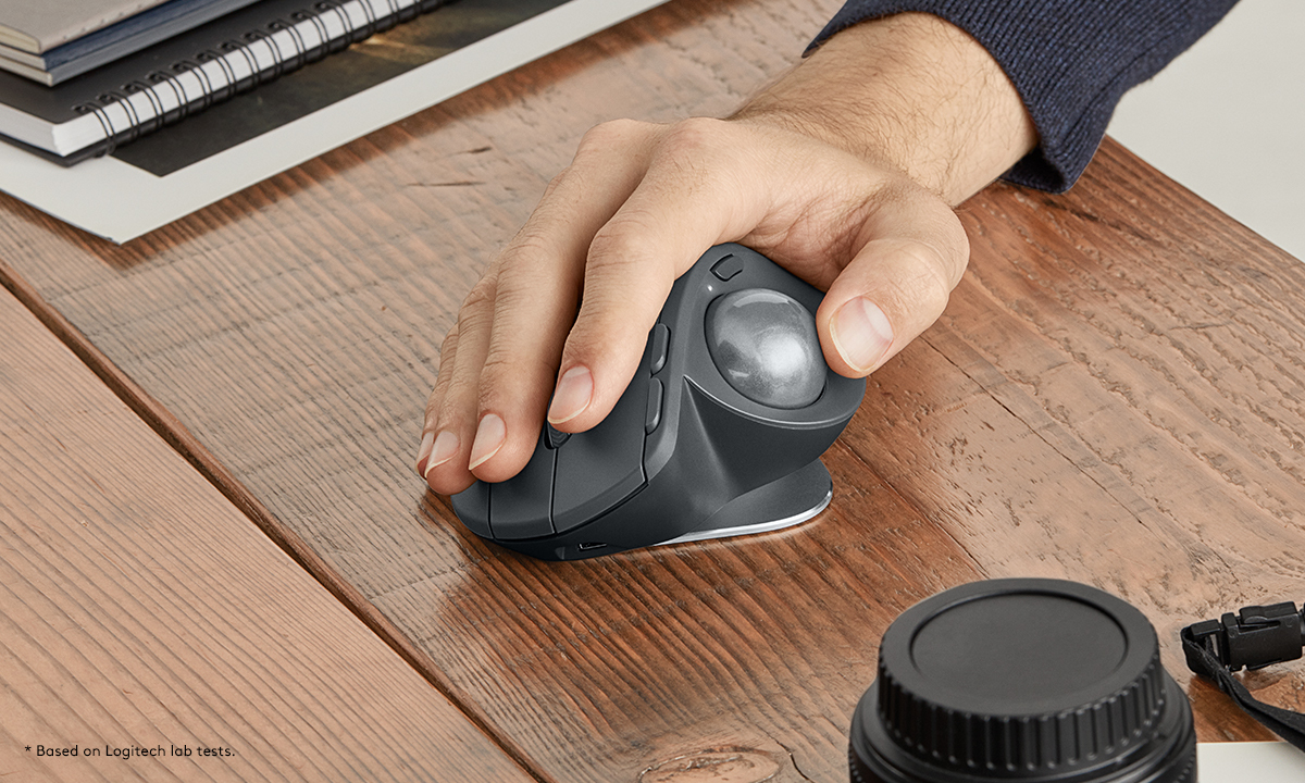 Logitech MX Ergo Wireless Trackball Mouse Pairing