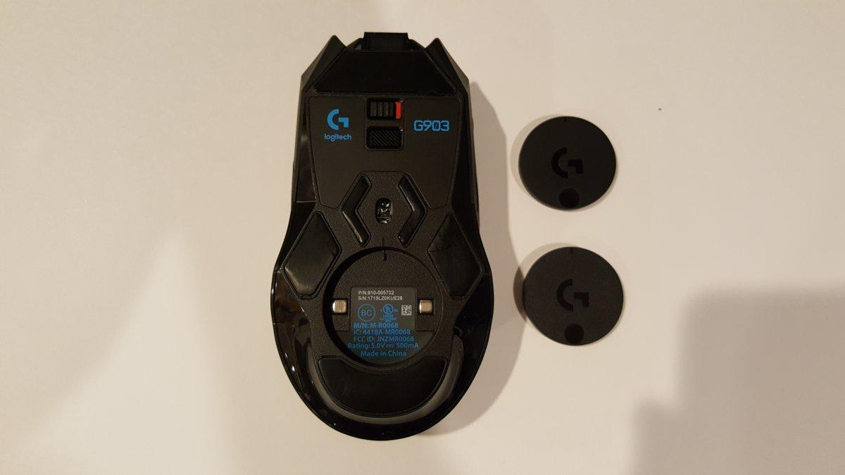 Logitech G903 Design