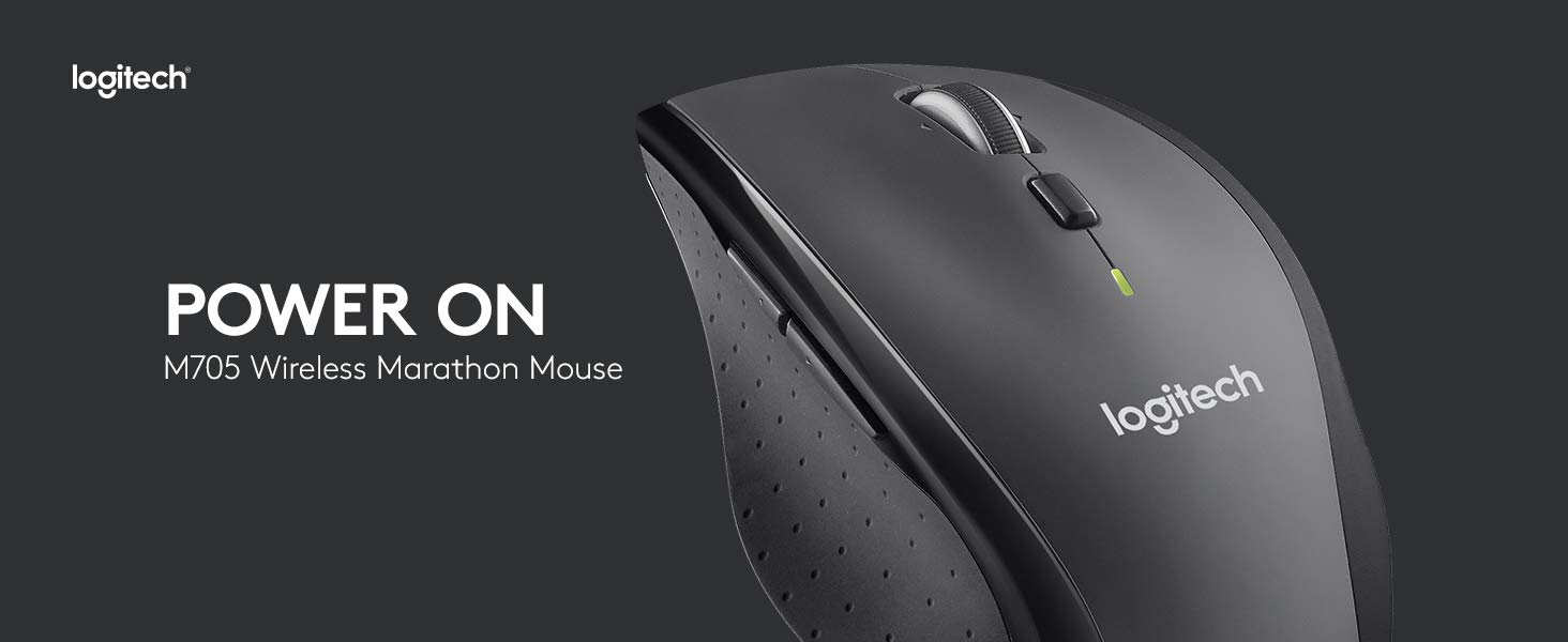 Logitech M705 Marathon Mouse Review