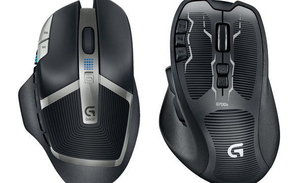 Logitech G602 vs G700s